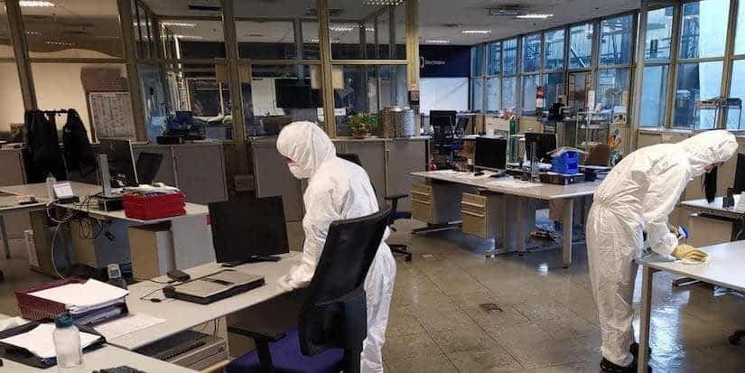 Sanificazione e disinfezione negozi e uffici